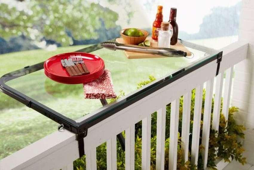 наружный балконный стол