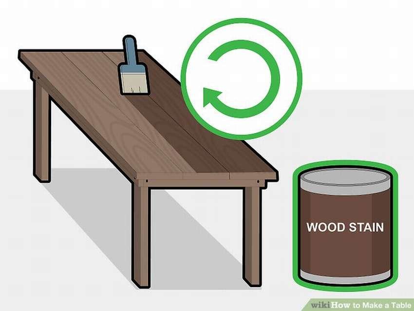 стол из дерева своими руками пошагово