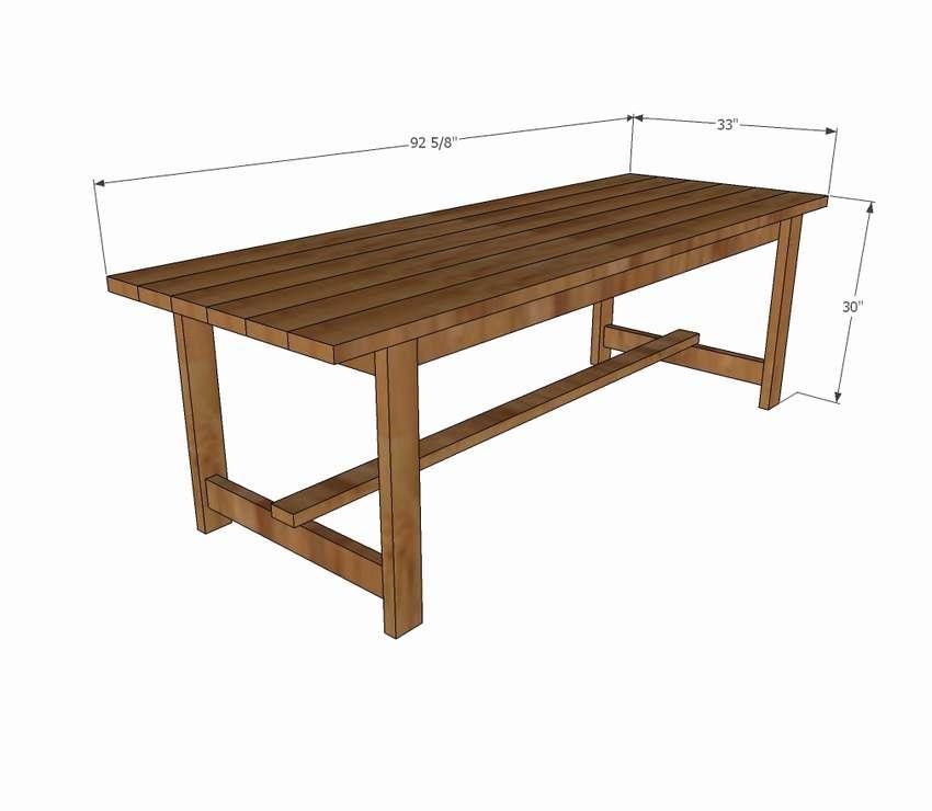 деревянный стол для начинающих