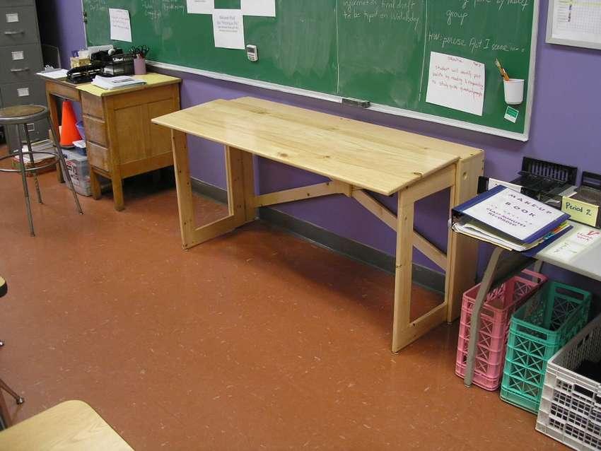 складной деревянный стол своими руками