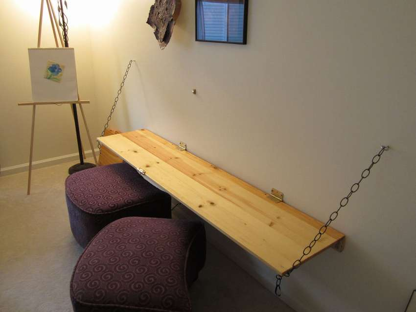 настенный откидной письменный стол