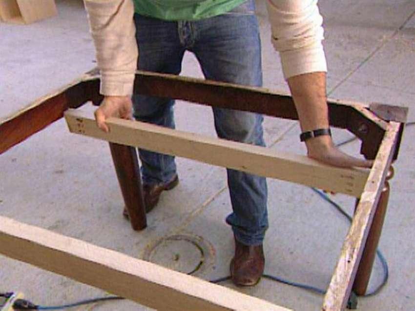 как сделать раздвижной стол из обеденного стола