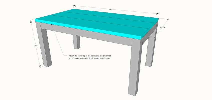 современный обеденный стол дизайн