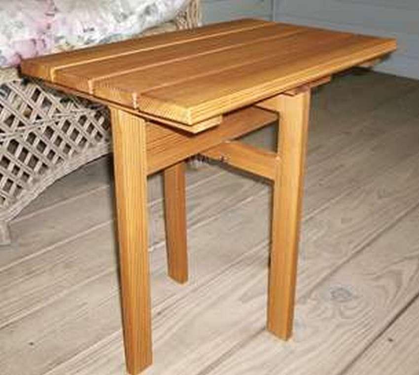 как сделать маленький раскладной столик