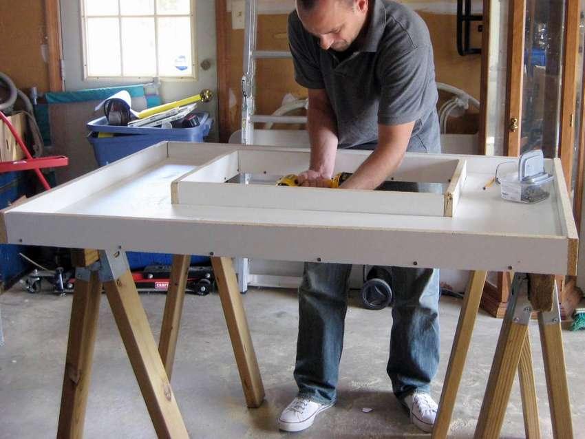 как сделать бетонную столешницу для кухни
