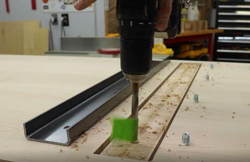 как сделать столешницу для рабочего стола