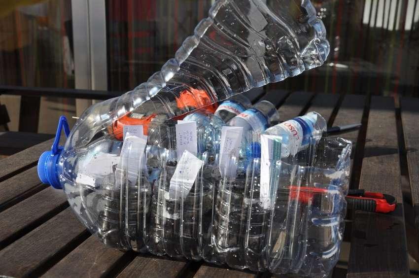 микропарник из пластиковой бутылки